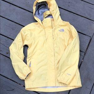 Girls Medium Northface rain coat